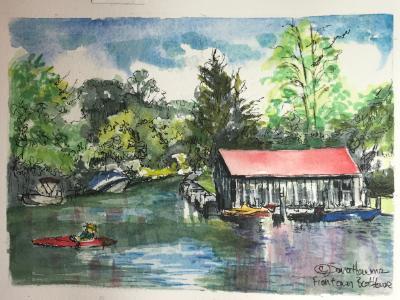 Leland River Boathouse