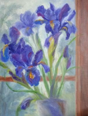 Irises on the Sill