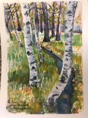 Birch Creek 5 x 7