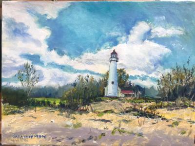 Sturgeon Point Light House, Harrisville, Mi -SGH
