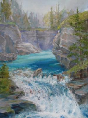 Johnson Canyon Falls, Banff JMH