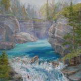 Johnson Canyon Falls, Banff JMH