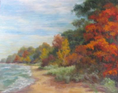 Autumn Along the Shore JMH