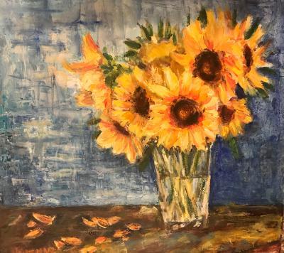 Sunflower still life SGH
