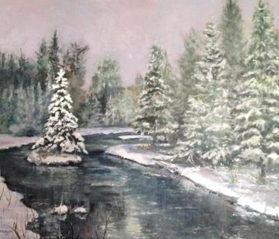 Kellogg's Bridge/ Lone pine Island