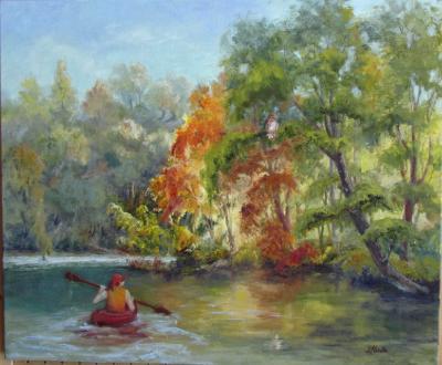 I Spy...Kayaking on the River